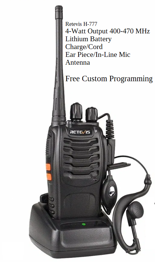 2 way handheld Radio