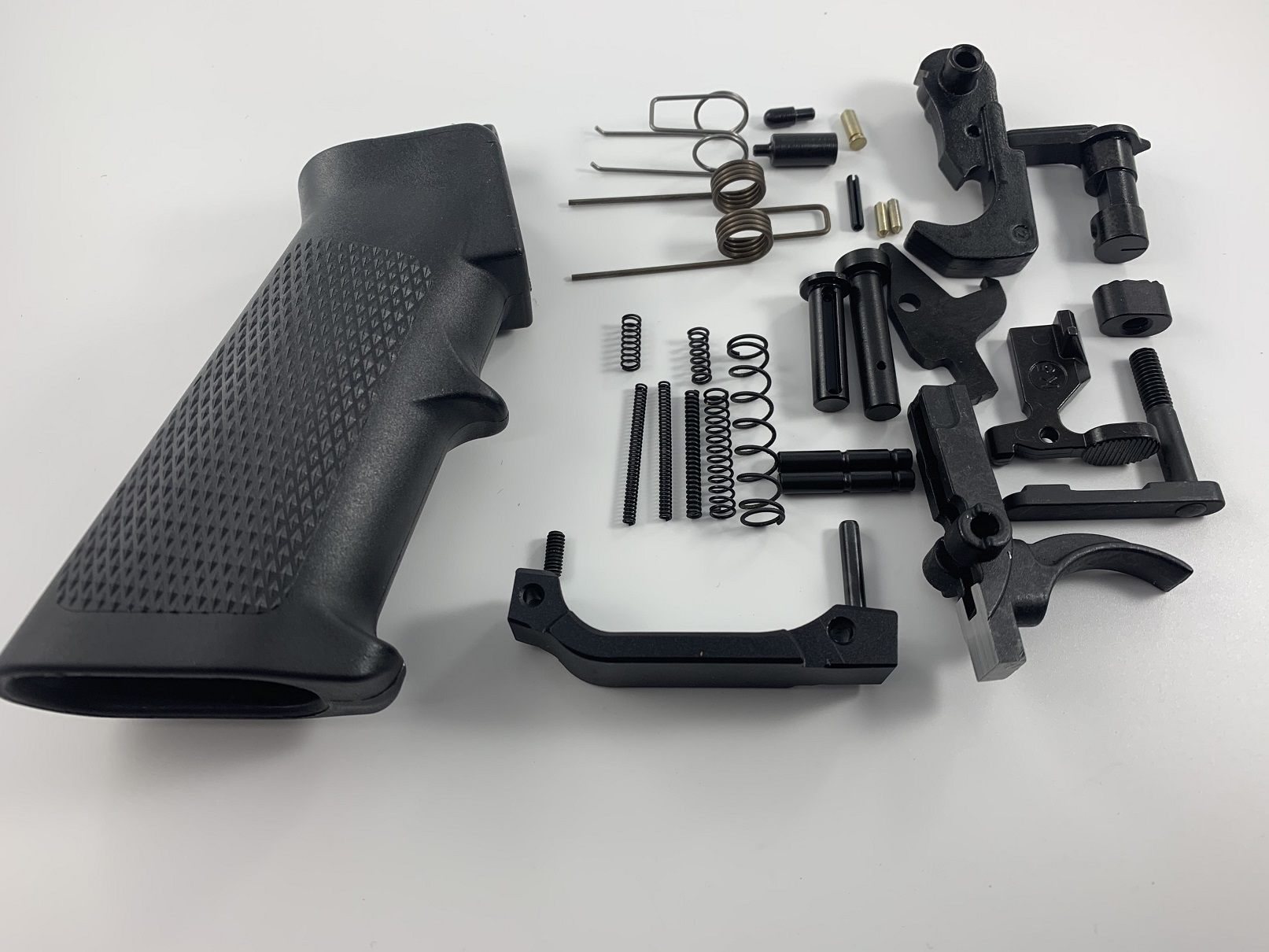 AR-15 Complete Lower Parts Kit Mil Spec Enhanced Trigger Guard