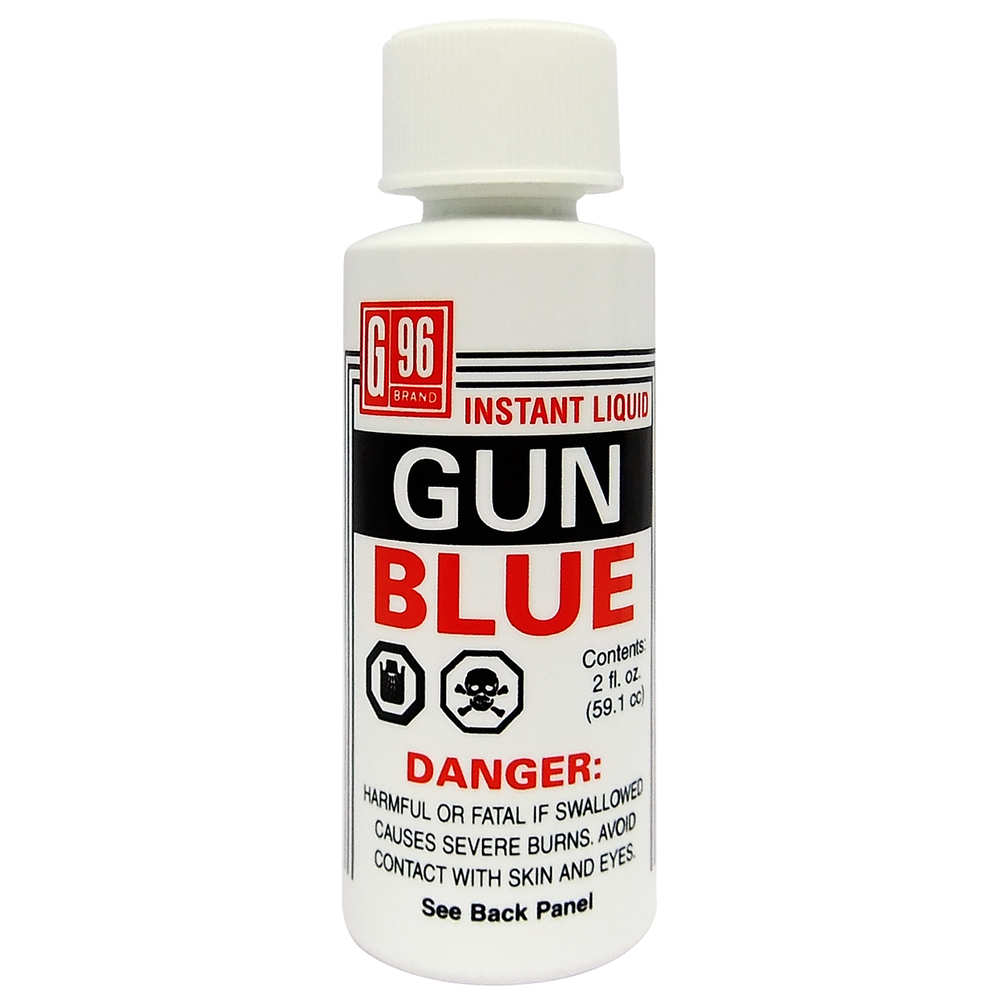 g-96 brand - Gun Blue - G96 LIQUID GUN BLUE 2OZ for sale