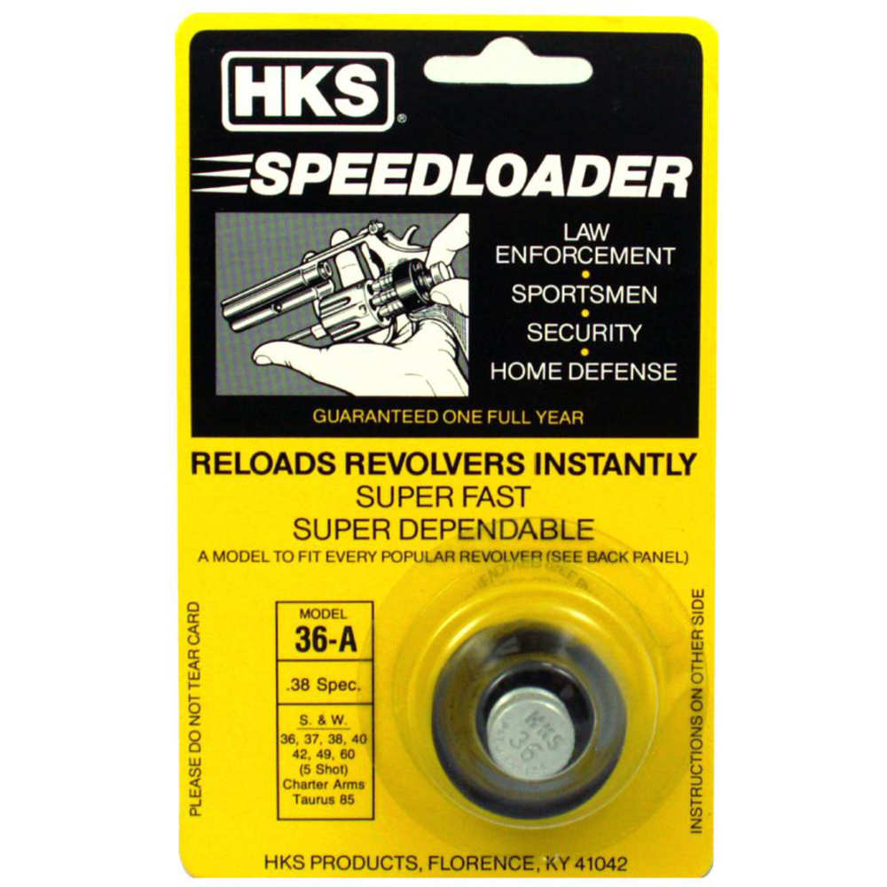 hks products - A Series - .38 Special - RVLVR SPDLDR 38/357 CAL 5 SHOT for sale