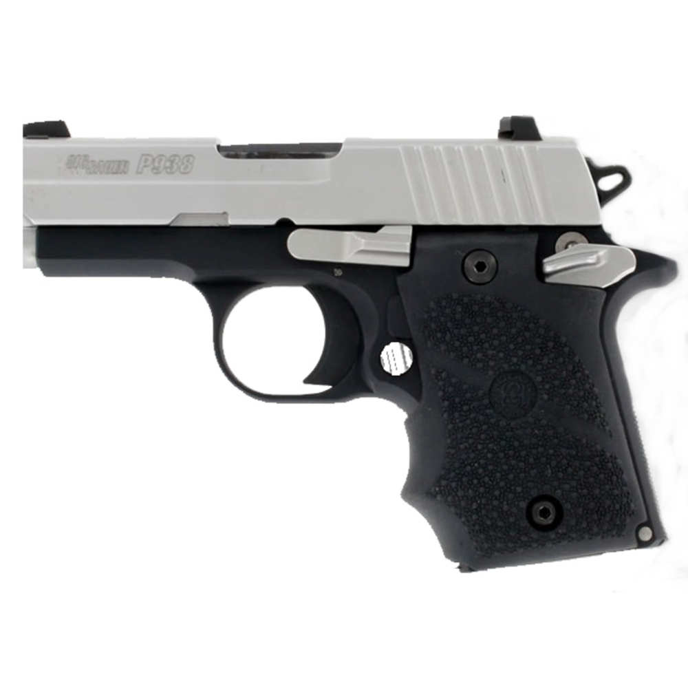 hogue - Rubber Grip - SIG P938 AMBI RUB GRIP W/FG BLACK for sale