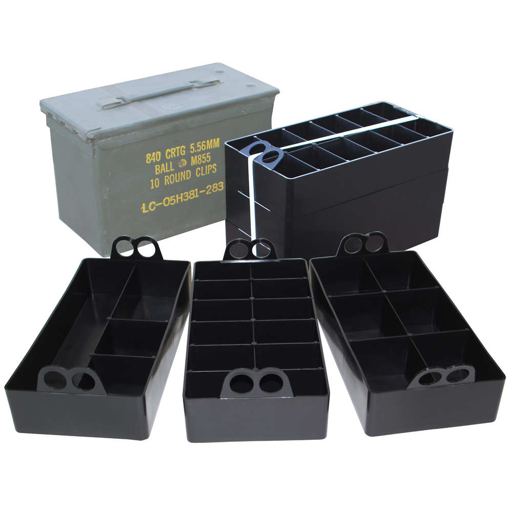 mtm case-gard - Ammo Can - AMMO CAN ORGANIZER INSERT 3PK BLK for sale