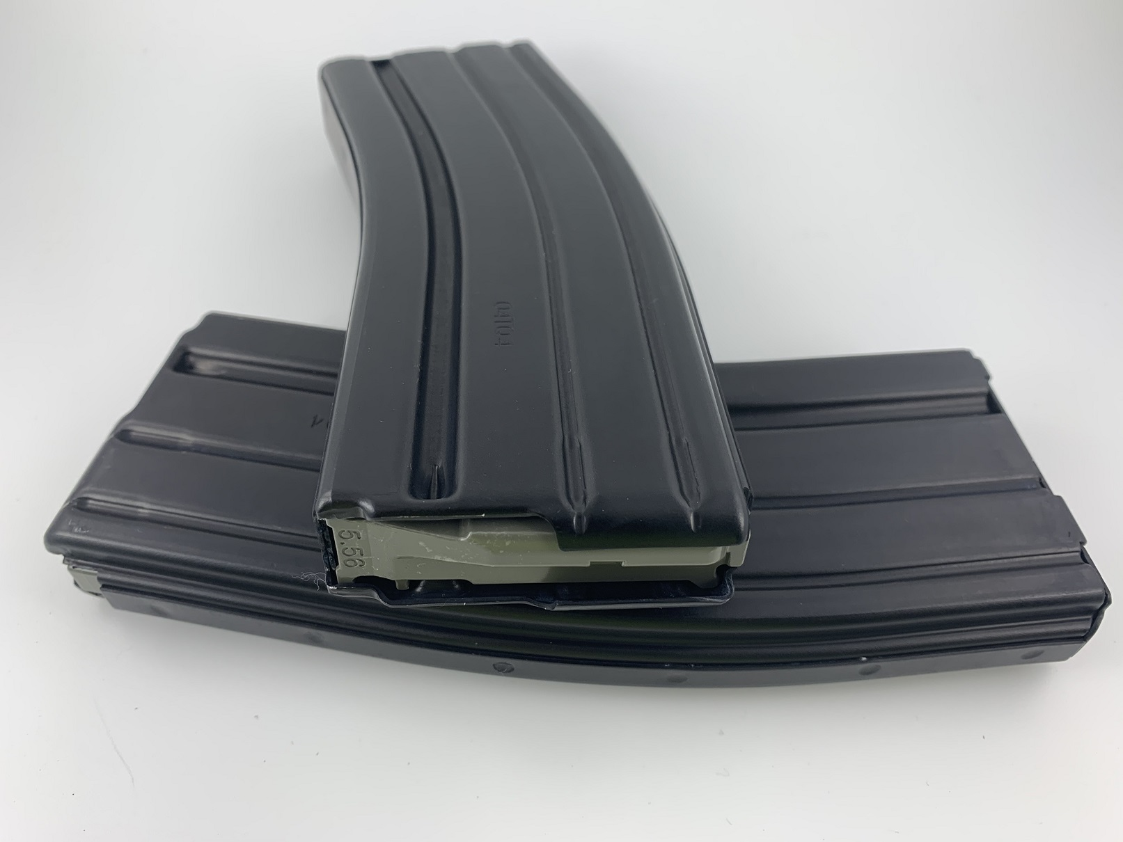 D&H PSA Branded 30 round AR 5.56/223/300 BO Aluminum Magazine Gray Follower