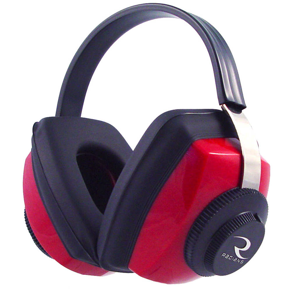 radians - Competitor - COMPETITOR EARMUFF RED NRR 26 for sale