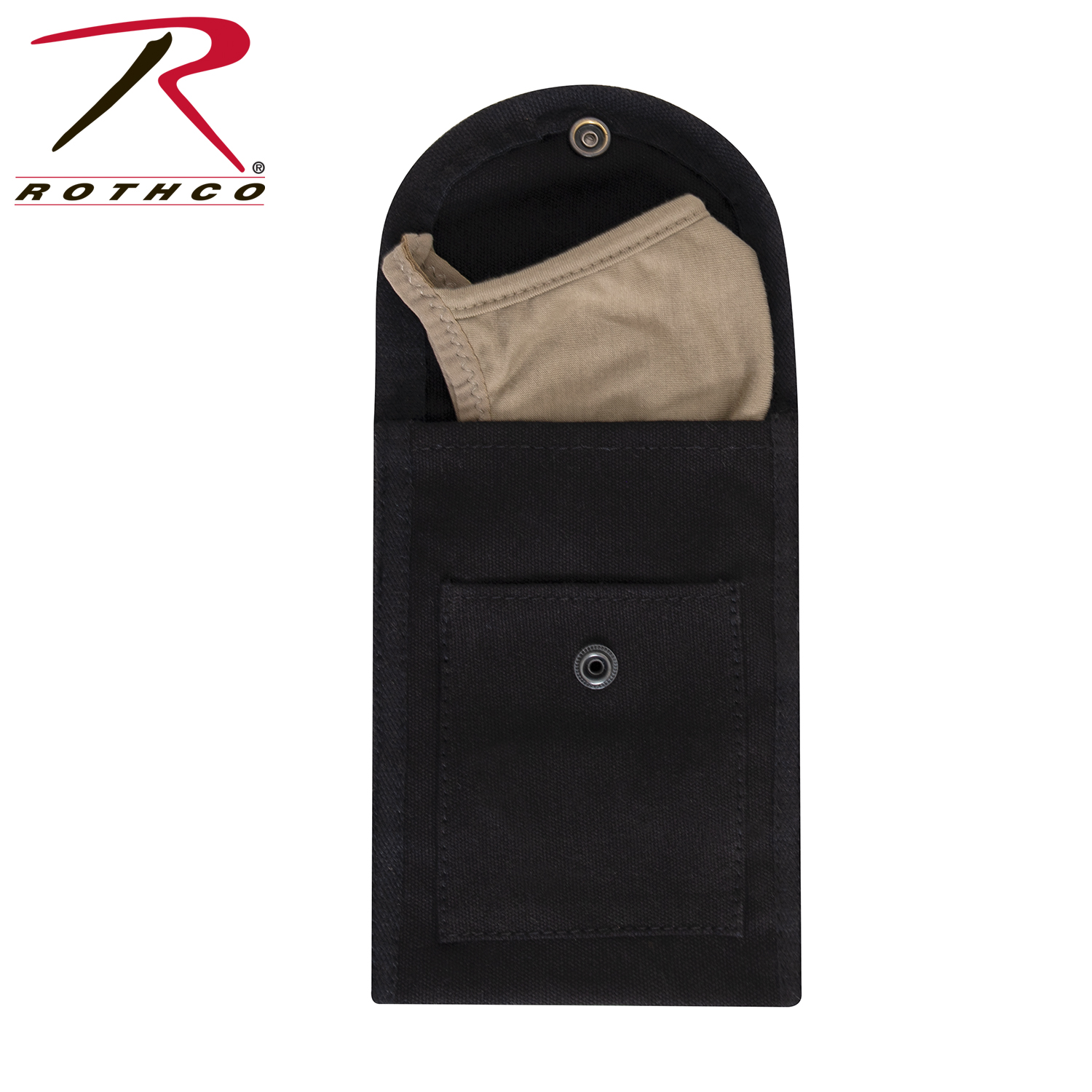 Face Mask Pouch - Black