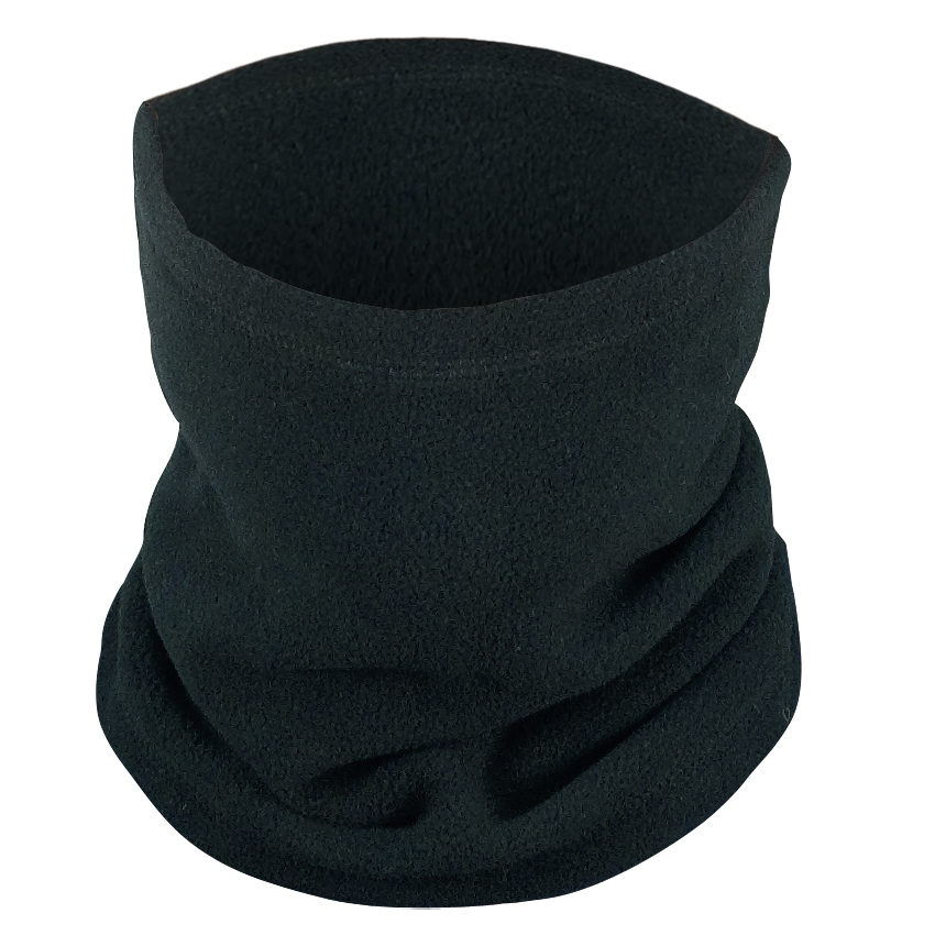 Black Polar Fleece Neck Warmer/Gator