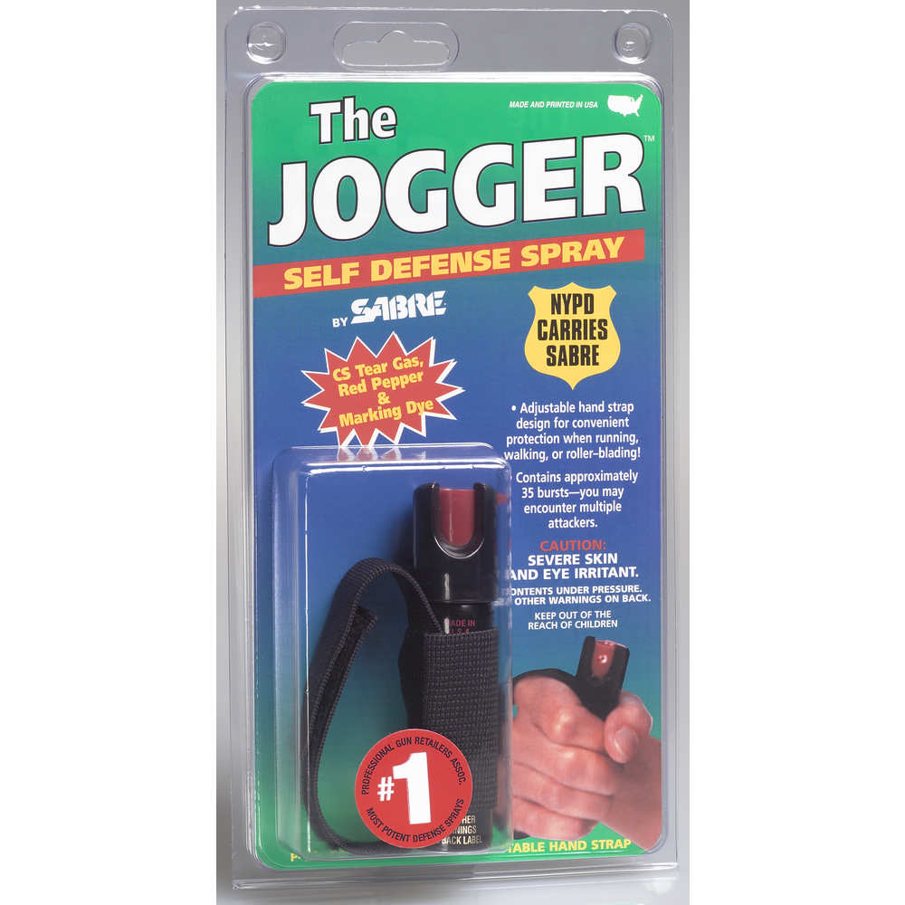 security equipment - Jogger - SABRE DFNS SPRAY 0.75OZ JOGGER UNIT for sale