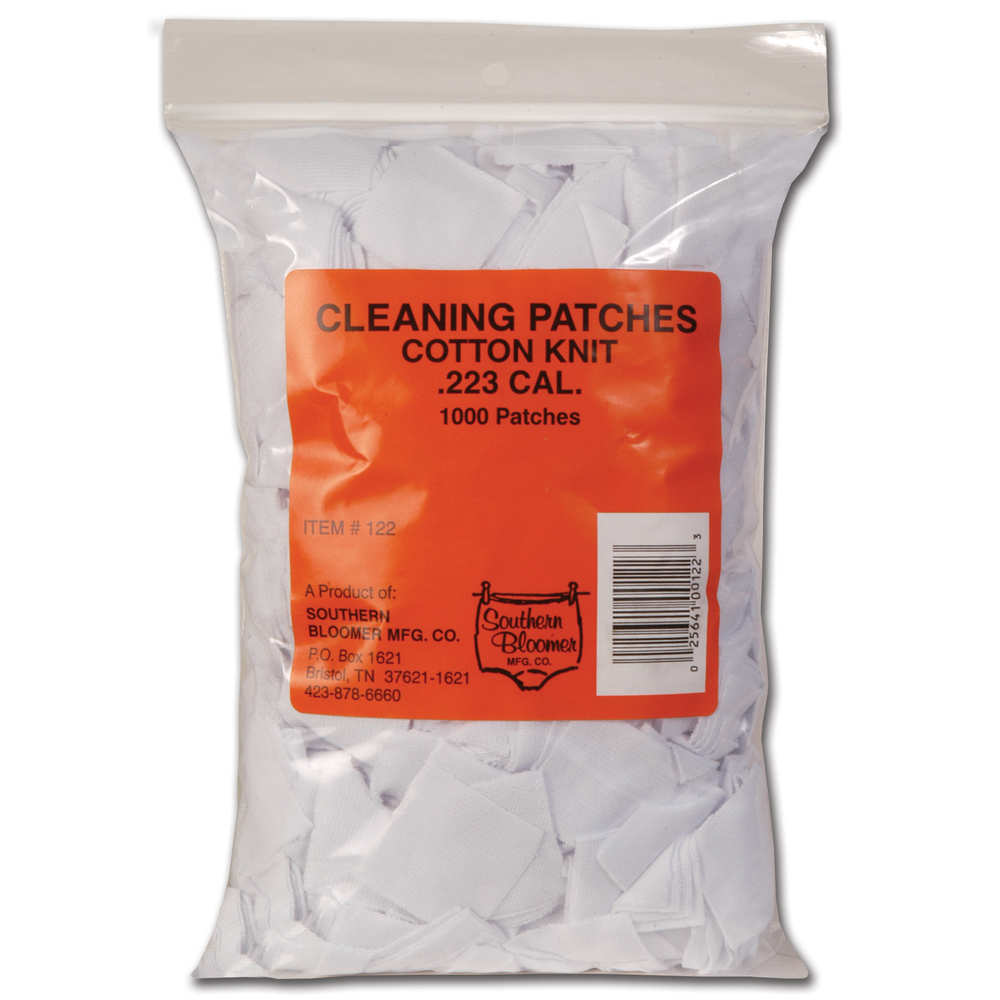 southern bloomer - Cleaning Patches - CTTN KNIT 223 CAL 1000PK CLNG PATCHES for sale