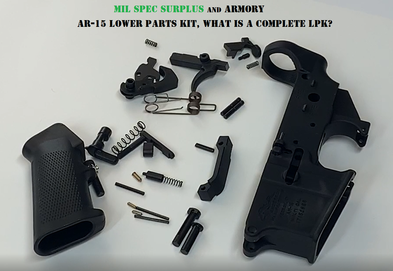Complete Lower Parts Kit Video Review